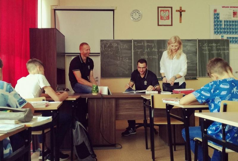 Wyjątkowa lekcja języka polskiego!