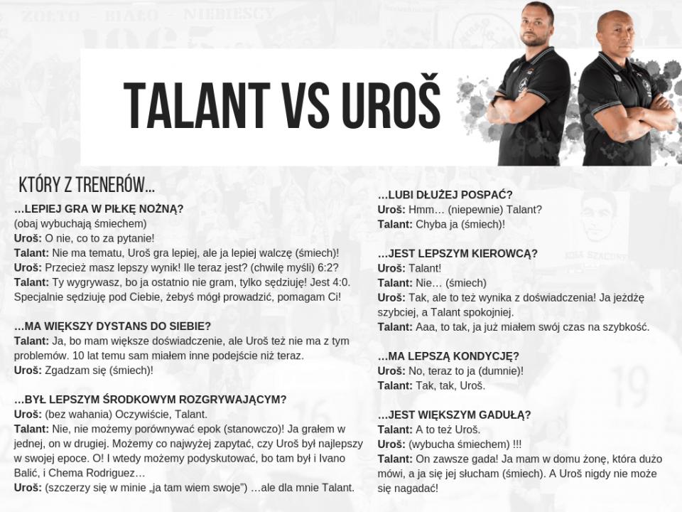 Talant vs Uroš (1)