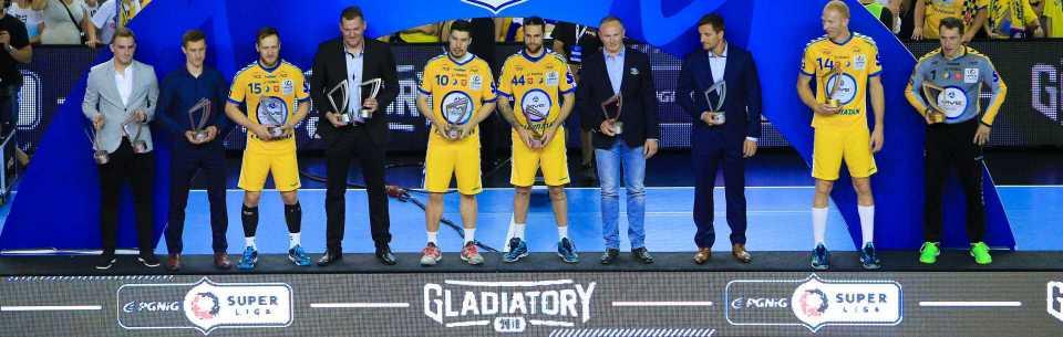 Żółto-biało-niebieskie nominacje do Gladiatorów!