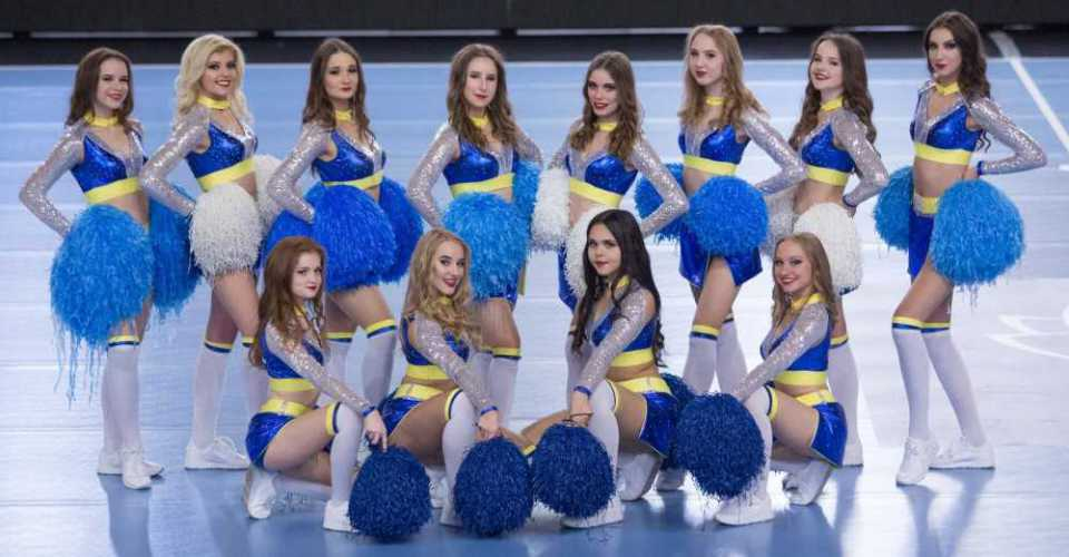 PGE VIVE Cheerleaders