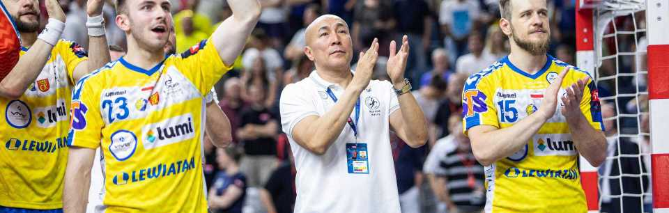 T. Dujshebaev: The players gave me a wonderful gift.