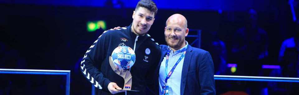 Alex Dujshebaev named the Top Scorer of the Champions League!