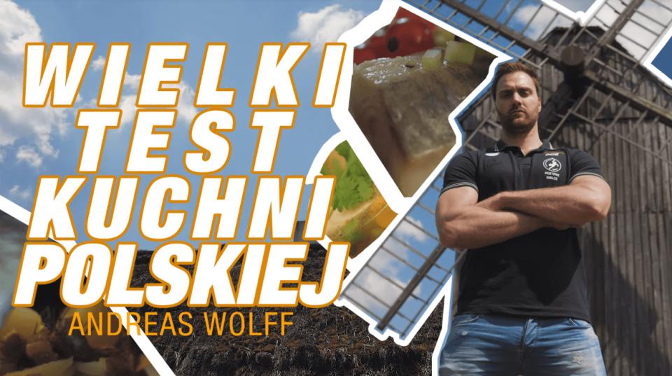 Vlog #1: Wielki Test Polskiej Kuchni zAndreasem Wolffem