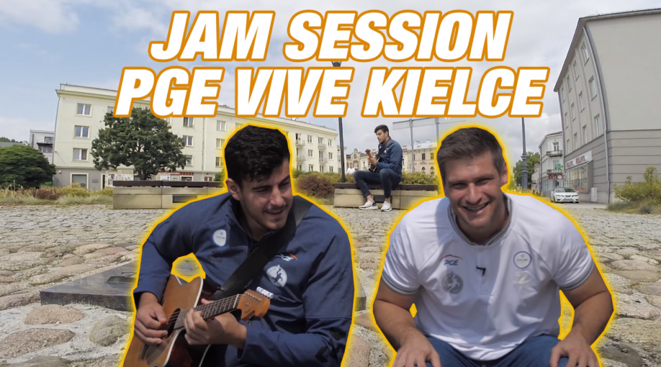 VLOG #4: Jam session PGE VIVE Kielce