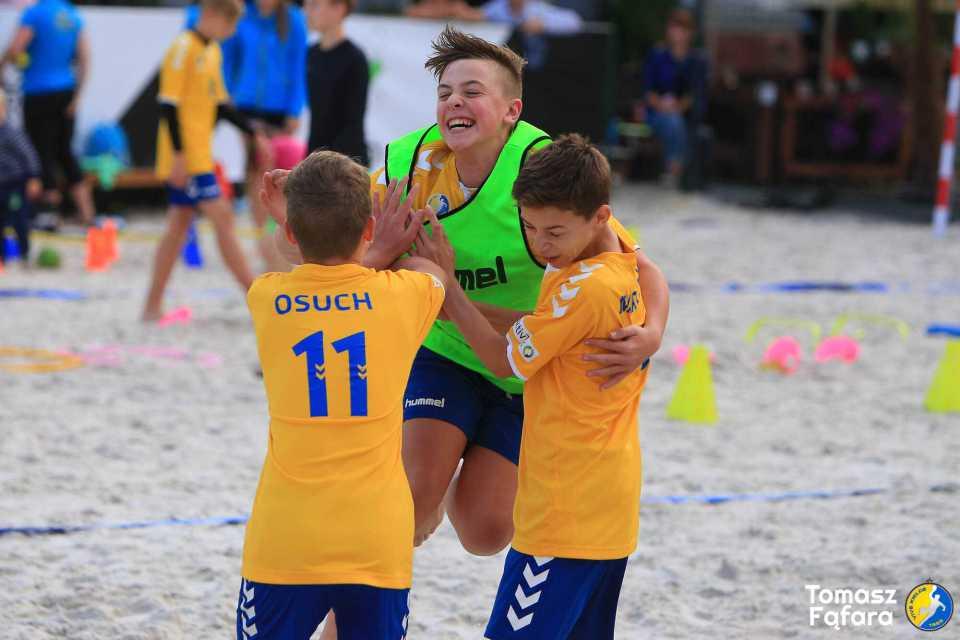 Mini-turniej piłki ręcznej plażowej 2019