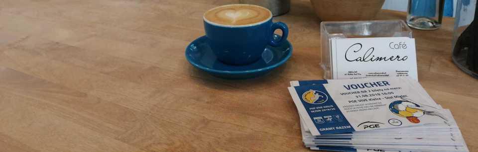 Poproszę kawę… a do kawy voucher
