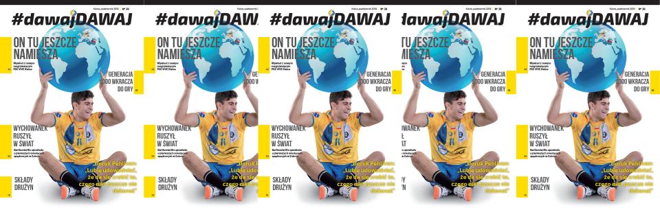 Nowa formuła magazynu #dawajDAWAJ
