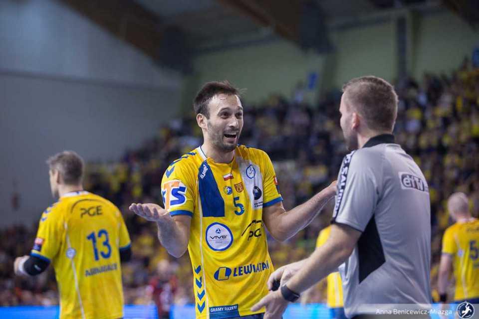 8 kolejka LM 2019/20: PGE VIVE Kielce - HC Vardar