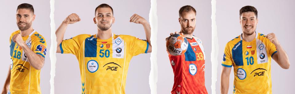 Czterech zawodników PGE VIVE nominowanych do All-Star Team Ligi Mistrzów!