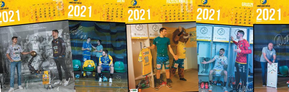 Klubowe kalendarze na rok 2021 już w sprzedaży!