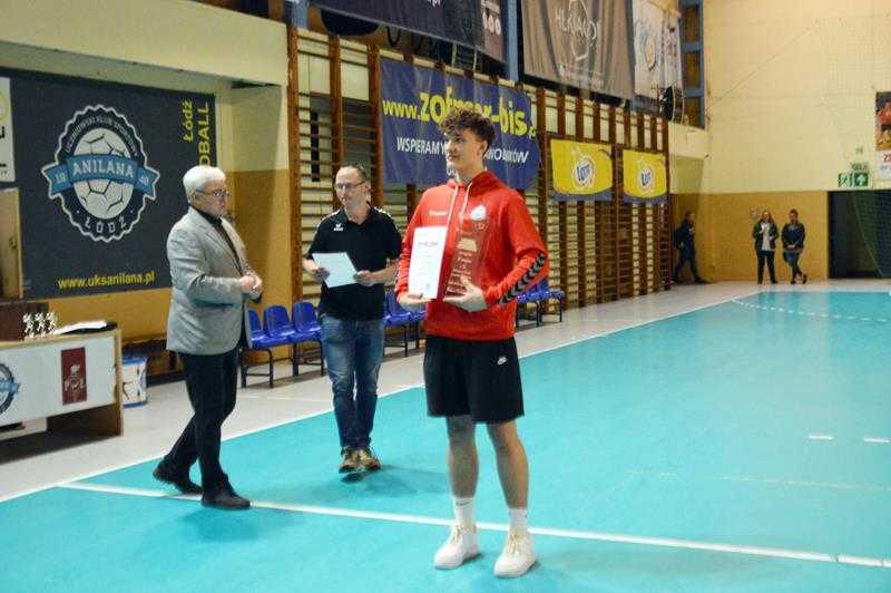Patryk Wasiak, MVP turnieju z drużyny KS Vive I Kielce