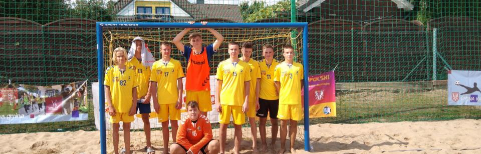 Młodzicy piątą drużyną Polski w plażówce